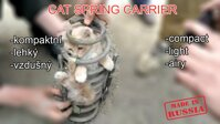 Cat spring carrier