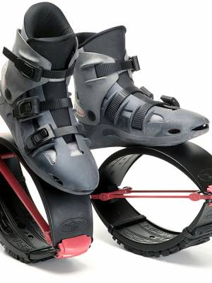 Kangoo Jumps KJ5 PRO7 black/red